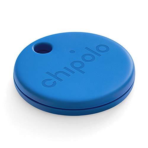 Chipolo One (2020) - Localizador de Llaves Bluetooth más Potente y Resistente al Agua (Azul)
