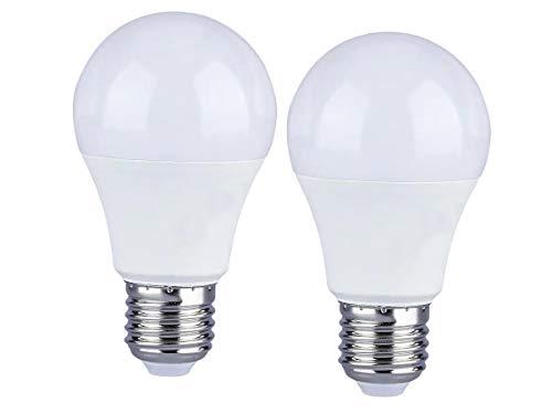 LEDLUX 2 Pezzi Lampada Led E27 Dimmerabile 12W 1055 Lumen Bianco Caldo 3000K