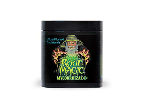 Root Magic Mycorrhizae + Microbes (4 oz) Blue Planet Nutrients | Hydroponic Aeroponic Coco Coir Soil Soil-Less | Beneficial Fungi for Plants | Boost Root Efficacy