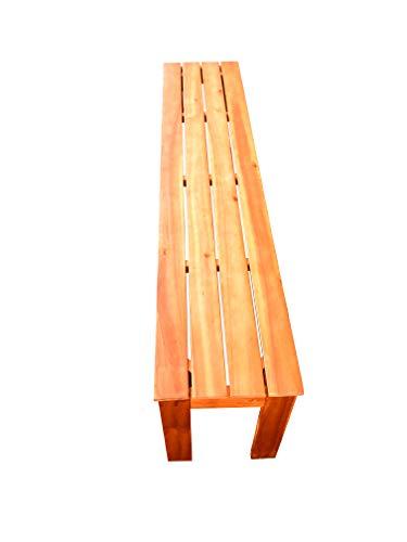 SAM Garten-Bank 150 cm Elyar aus Akazien-Holz, 3-Sitzer für Balkon, Terrasse und Garten