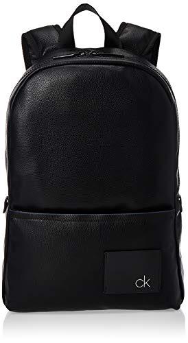 Calvin Klein Herren Ck Direct Round Backpack Rucksack Schwarz (Black)