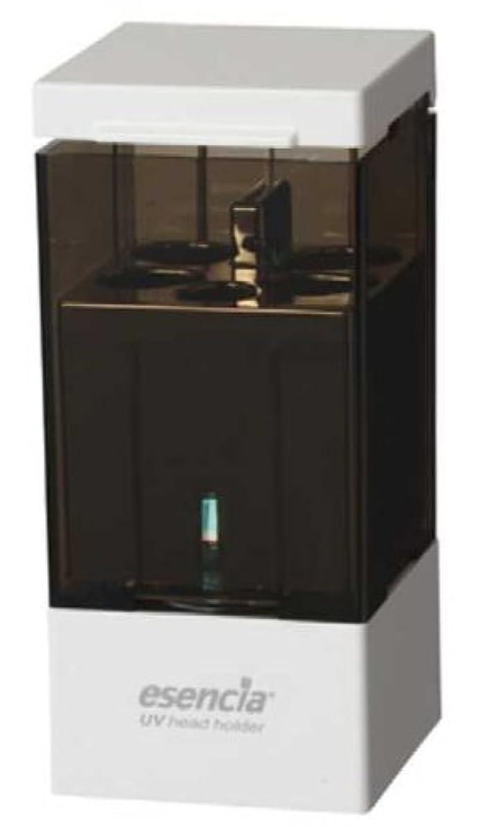元気な可塑性ダルセットエセンシア 【電動歯ブラシユーザーのために開発された】UVヘッドホルダー(電動歯ブラシ専用除菌器) ESA-107