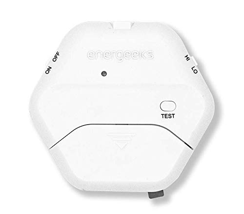 Mini Alarma Anti-intrusión para Puertas y Ventanas de Cristal Energeeks