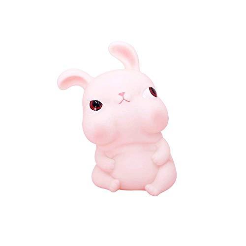 Piggy Bank inyl - Conejo de Dibujos Animados para niños, Resistente a caídas, Duradero, para niña, Regalo de cumpleaños como Dormitorio, Sala de Estar, Sala de Estudio, habitación p