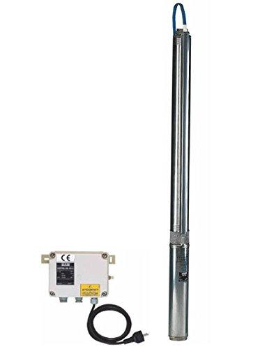 DAB Tauch-/Unterwasserpumpe für Brunnen von 4 Zoll S4D-13M Kit, Anschluss 1 1/4