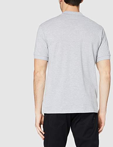 Lacoste Men's L1264 Polo Shirt, Grey (Argent Chine), Medium (Manufacturer size: 4)
