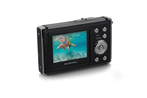 Bell+Howell WP20-BK Splash3 20 Mega Pixels Waterproof Underwater Digital Camera with Full 1080p HD Video, 2.4