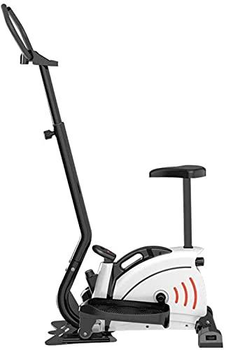 Runningmachine1121 Máquina elíptica para Uso doméstico Entrenador elíptico portátil para Gimnasio en casa Ejercicio aeróbico Equipo de Cardio Fitness con Monitor LCD Resistencia magnética