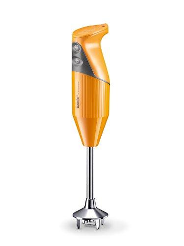 bamix SwissLine Stabmixer, Edelstahl, 12x 6x 35 cm, Edelstahl, rostfrei, Orange VIF, 12 x 6 x 35 cm 200 watts