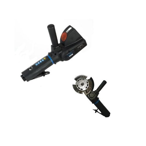 MONTI MBX® Metal Blaster - Pneumatic Heavy Duty (PHD) - inkl. Aufnahmesystem 23 mm