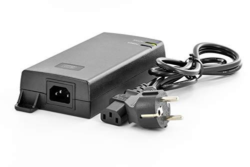 DIGITUS PoE+ Injektor - IEEE802.3at - Gigabit Ethernet - 60 Watt - max. 48 Volt - PoE Modus A & Modus B