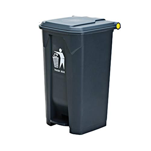 Lowest Prices! LXF Outdoor Waste Bins Swing Box Home Garden Kitchen Garbage Recycling Plastic Trash ...