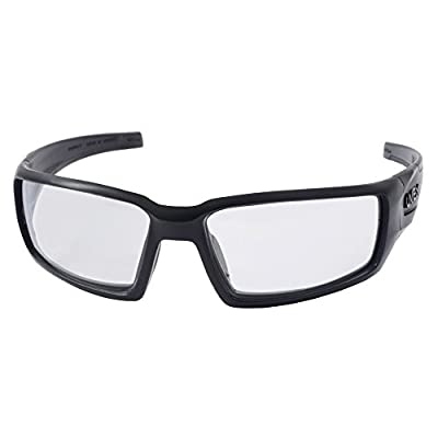 Howard Leight by Honeywell Uvex Hypershock Shooting Glasses with Uvextreme Plus Anti-Fog Lens Coating, Clear Lens (R-02220)
