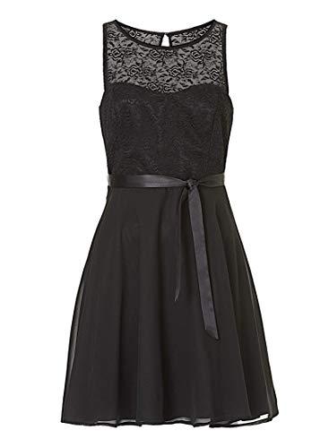 Vera Mont VM Damen 0011/4825 Kleid, Schwarz (Jet Black 9042), 42