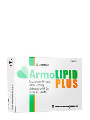 Armolipid Plus integratore alimentare con riso rosso, 20 compresse
