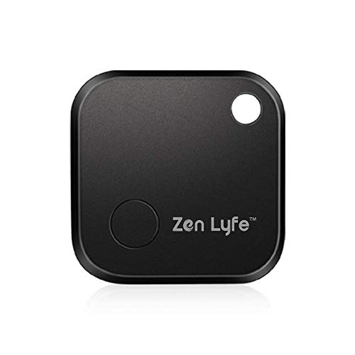 Smart Key Finder, Zenlyfe/SwiftFinder Mini Wireless Locator Anti-Lost Bluetooth Tracker for Key/Phone/Wallets/Purse/Luggage and Bags with APP Control Black