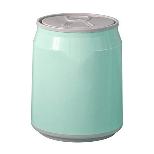 Botes de basura Caja de almacenamiento creativa multifuncional multifuncional del cubo de basura del coche del escritorio de la encimera del plástico mini Botes de basura de cocina Basurero Reciclaje