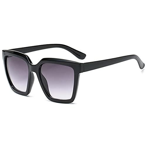 Gafas De Sol Gafas De Sol Cuadradas con Montura Grande, Diseño De Marca para Hombres Y Mujeres, Gafas De Sol De Gran Tamaño, Gafas De Sol Blancas Y Rosadas Femeninas, Número De Col