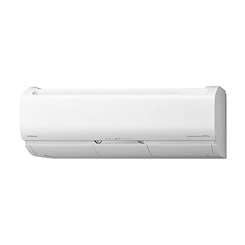 日立【エアコン】ステンレス・クリーン白くまくんおもに10畳用(冷房:8~12畳/暖房:8~10畳)プレミアムXシリーズスターホワイトRAS-X28K-W