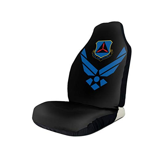 Best Deals! Civil Air Patrol Car Seat Covers for Vehicles Universal 3D Printing Car Seat Covers Fron...