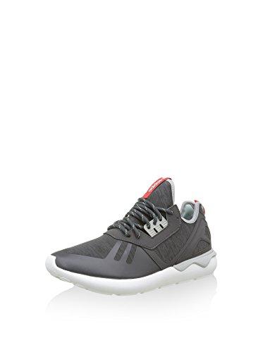 adidas Tubular Runner Weave, Scarpe da Running Uomo, Nero Rosso Bianco, 44 EU