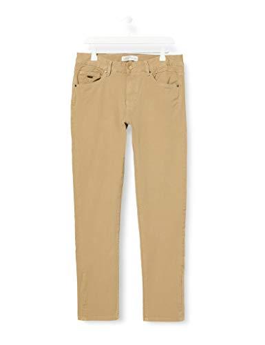 Springfield Herren 5b Zg Bi-Stretch Slim-c/51 Hose, Beige (Beige 39778451), 38 (Herstellergröße: 30)