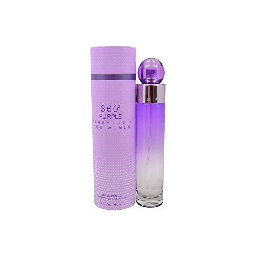 Perry Ellis 360 Purple – Perry Ellis-Perfume para mujer – Agua de perfume 100 ml WREE-1027