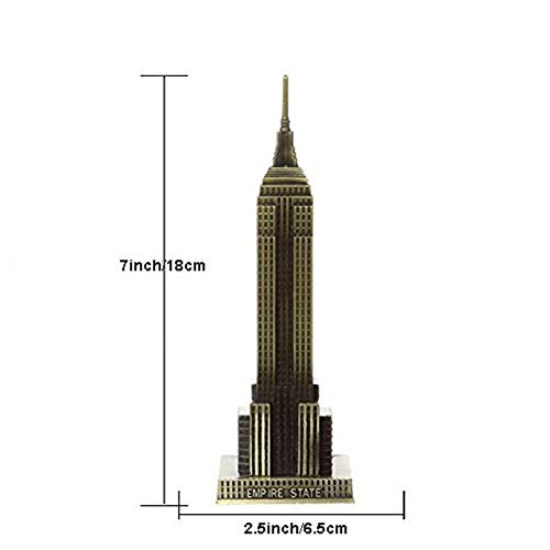 PROW® New York - Estatua de Edificio de Bronce y Metal, Modelo ...