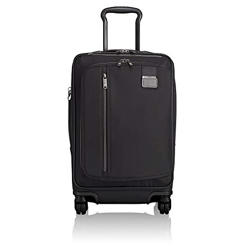 Tumi Merge International Expandable Carry-On Equipaje de Mano, 56 cm, Negro (Black Contrast)