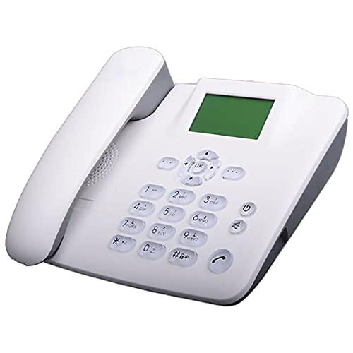 Teléfono de escritorio GSM inalámbrico, Menú de lenguaje completo, Marcación de una sola construcción, Llamada de manos libres, Libre telefónico, Largo Standby, Informes de voz