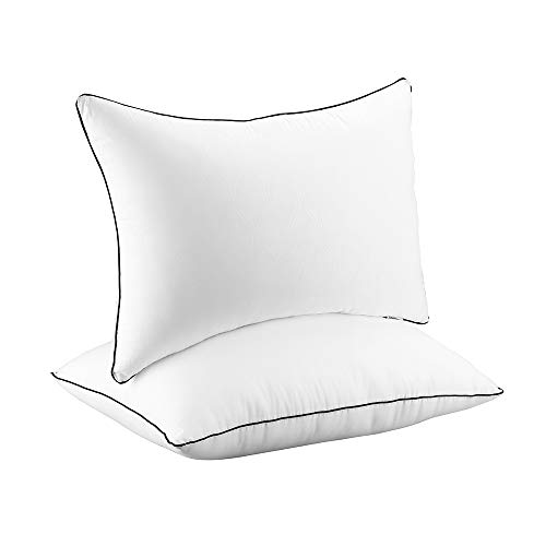 2 Pack Hypoallergenic Sleeping Pillows for Side and Back Sleeper $16.00 (60% OFF)