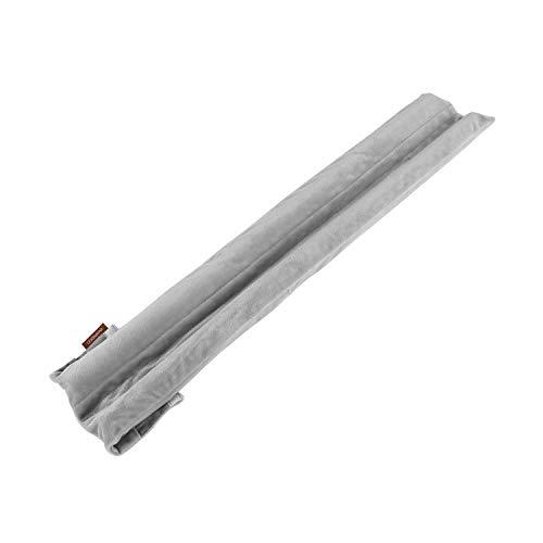 GNEGNI 30 inch Under Door Draft Stopper,Improved Adjustable Double Draft Blocker for Doors Windows Sound Proof Reduce Noise Door Sweep