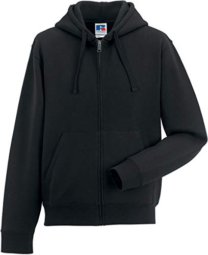 Russell Unisex Sweatjacke Authentic Zipped Hood R-266M-0 Black XS