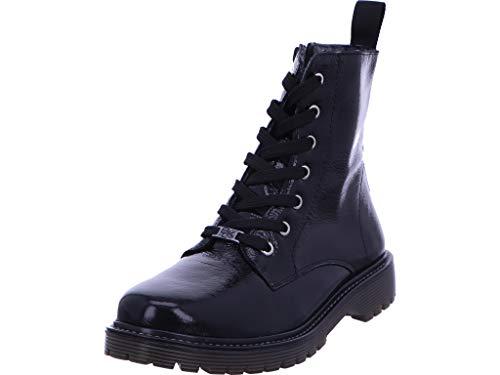 Idana Black Schnürstiefelette Stiefel Boot Damen Schwarz Neu Größe 40 EU Schwarz (schwarz)