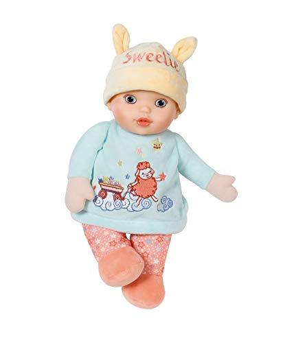 Baby Annabell 702932 Sweetie 30cm Puppe - Klein & Weich - Leicht für Kleine Hände, Kreatives Spiel fördert Empathie & Soziale Fähigkeiten, für Babys 0-12 Monate - inklusive integrierter Rassel & mehr