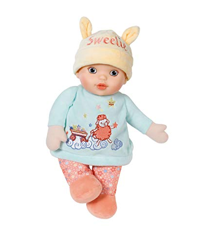 Zapf Creation 702932 Baby Annabell Sweetie for Babies Stoffpuppe mit Rassel, 30 cm