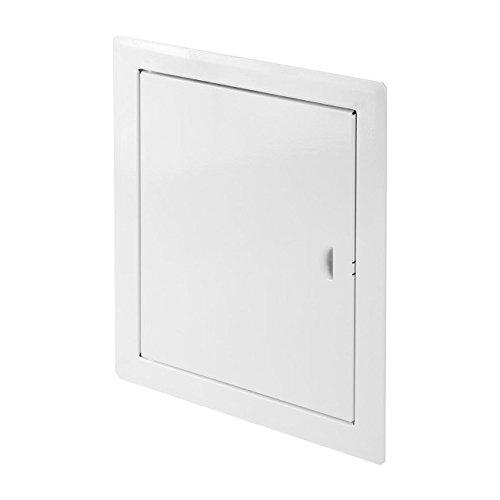 Blanco Panel de alta calidad metal acceso 600/mm x 600/mm de pared Loft trampilla para puerta de inspecci/ón Servicio de Visi/ón punto DM104