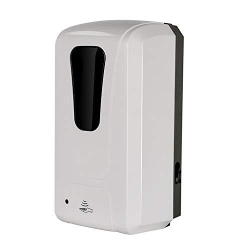 WGGTX Dispensador de jabón para Ducha 1200ML automático dispensador de jabón for baño y Cocina de Espuma dispensadores de jabón montado en la Pared/encimera Hotel, Aseo