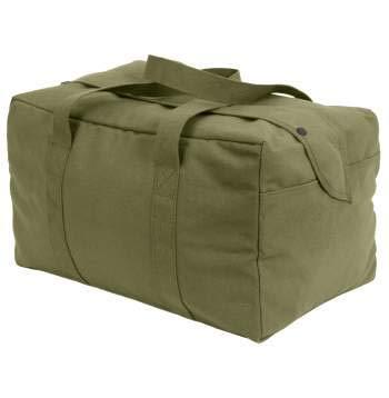 (ロスコ) ROTHCO  キャンバス スモール パラシュートカーゴバッグ Canvas Small Parachute Cargo Bag[7028] (オリーブ)