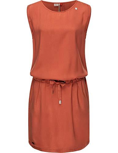 Ragwear Robe dété pour femme - Robe de plage - En jersey - Robe de loisirs - Mascarpone - XS à XL - Rouge - X-Large