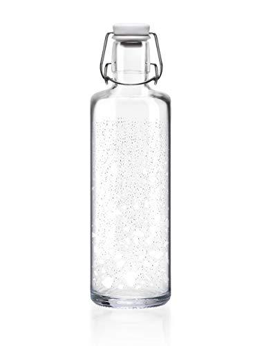 soulbottles 1,0l • Icebreaker • Trinkflasche aus Glas • plastikfrei, nachhaltig, vegan