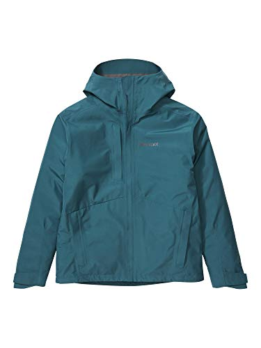 Marmot Herren Minimalist Jacket, wasserdichte GORE-TEX-Regenjacke, winddichter Regenmantel zum Fahrradfahren, atmungsaktiver Hardshell Windbreaker als Übergangsjacke, Stargazer, XL