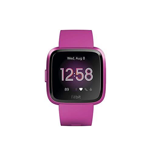 Fitbit Unisex- Erwachsene Versa Lite Smartwatch, Magenta, Einheitsgröße