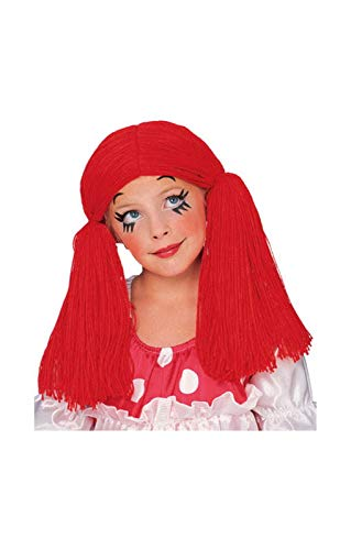 Horror-Shop Rag Doll enfant perruque