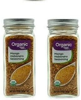 (2 Pack) Great Value Organic Mango Habanero Seasoning, 2.9 oz