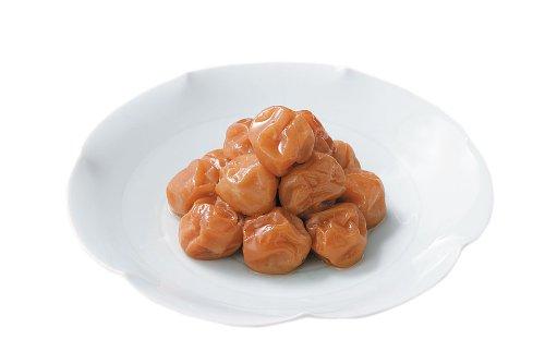 ちん里う本店 梅と塩だけで 昔ながらのしょっぱい、酸っぱい小梅干し 花梅 120g(国産・無添加)
