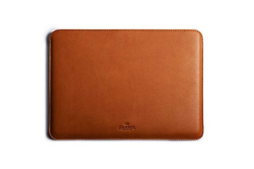 Macbook Leather Sleeve Handmade Case and Wool Felt Cover - Macbook Air 13' (2018-2019)
