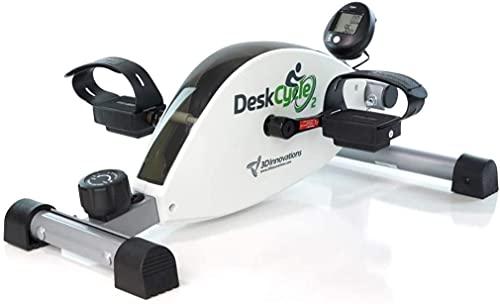 DeskCycle Nuevo - DeskCycle2 Altura Ajustable- Igual Que Nuestro Popular, DeskCycle2 Ejercicio de Perfil bajo y diseño de Primera Calidad para un de, Resistencia magnética Suave y silenciosa.