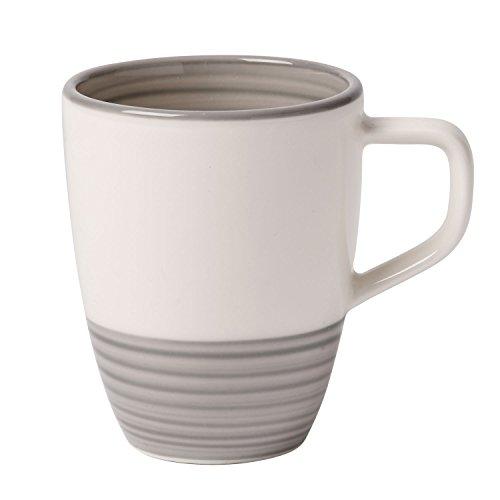 Villeroy & Boch Manufacture Grau Mokka-/Espressotasse, 100 ml, Premium Porzellan, Grau