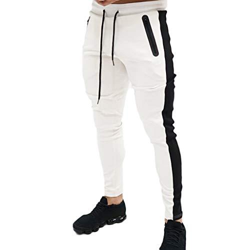 ITISME Homme Pantalons Casual Jeans Sport Jogging Slim Fit Militaire Cargo Montagne Baggy Pants Multi Poches Grande Taille